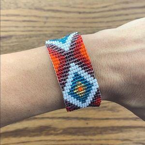 🐓 Boho beaded bracelet
